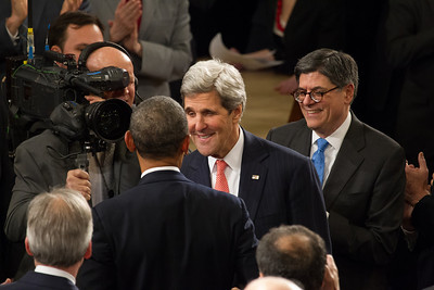 Barack Obama, John Kerry, Jack Lew