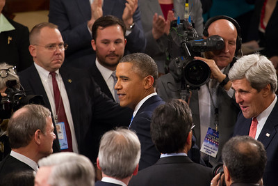 Barack Obama, John Kerry, John Roberts