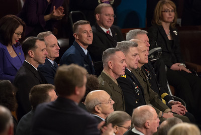 Barack Obama, State of the Union, Joint Chiefs of Staff