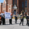 Women's Suffrage March Re-enactment