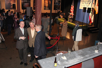 Mayor Edwin Lee's party at Très, 130 Townsend Street, San Francisco, 10pm to 10:15pm.
