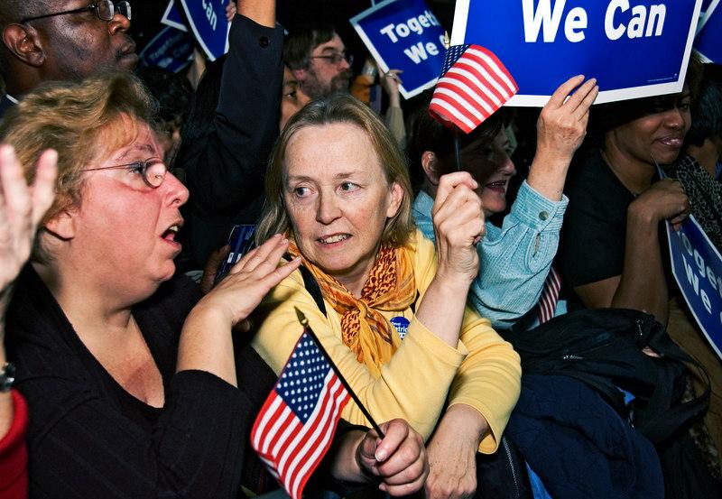Election Night, Hynes Auditorium