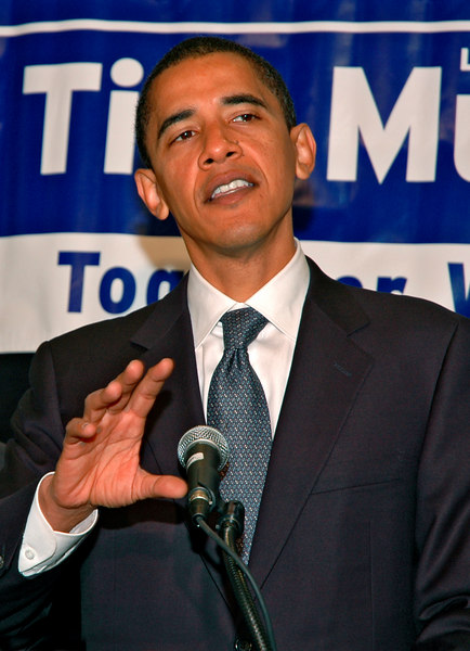 Senator Barack Obama, Parker House, Boston, MA
