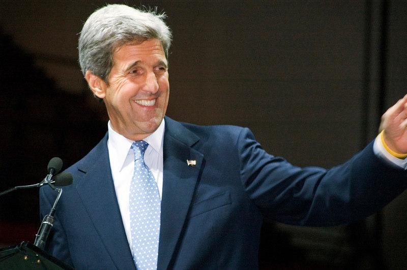 Senator John Kerry, Election Night, Hynes Auditorium