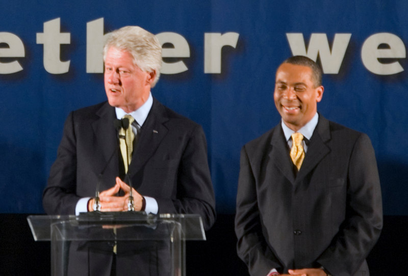 Boston Reception for Former President Bill Clinton