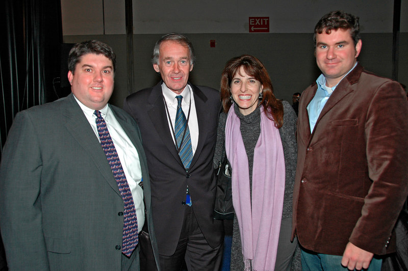 Congressman Ed Markey and Staff, Election Night, Hynes Auditorium