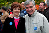 Mike and Kitty Dukakis, Deval Patrick Rally, Boston Common