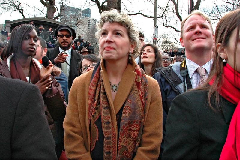 Inauguration Day, Boston, MA 2007