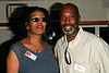 NEW YORK, NY - September 07:  Irma Tyrus-Mitchell, Director of Advertising/Marketing for Dottie Media Group LLC and Melvin Taylor at The New York Chamber of Commerce Corporate Cruise aboard The Paddlewheel Queen. on September 7, 2007 in NEW YORK, NY.  (Photo copyright 2007 Steve Mack)