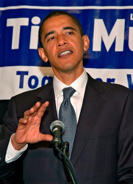 Deval Patrick Press Event, Boston, MA 2006