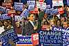 The Calm at the Center, Obama Rally, Boston, MA Feb 5, 2008