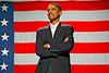 Barack Obama, future 44th President at a Deval Patrick for Governor Rally, Boston, MA Nov 3, 2006