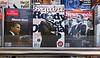 Obama Magazine Covers, Harvard Square Newsstand, Cambridge, MA 2008