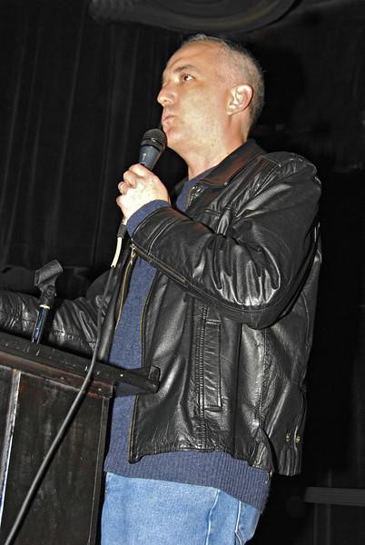 Roger Fisk, Massachusetts for Obama Celebration for Volunteers 11/16/08