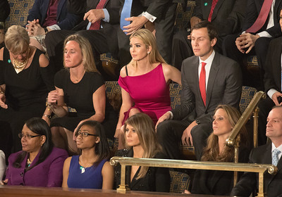 Donald Trump, Carryn Owens, Ivanka Trump