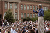 US Presidential candidate John Kerry speaks at a rally at NC State University in Raleigh, NC, Saturday, July 10, 2004.(Australfoto/Douglas Engle)
