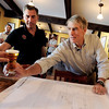 "Co-owner of Avery Brewery, Adam Avery, left, has a beer  with Senator Mark Udall on Friday.<br /> Colorado Senator, Mark Udall, toured Avery Brewery in Boulder  to bring attention to Colorado's  growing craft brewing industry.<br /> For more photos and a video of Udall at Avery, go to  <a href=""http://www.dailycamera.com"">http://www.dailycamera.com</a><br /> Cliff Grassmick / July 13, 2012"