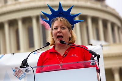 Ginni Thomas, Tea Party 9/12 Taxpayer March on Washington