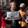 United with Wisconsin - Feb 2011 Love Park Protest : A gathering at Love Park in Center City Philadelphia supporting the rights of the union movement.