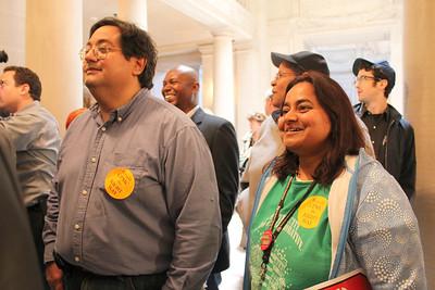 Right, Pratibah Tekkey, Community Organizer, Central City SRO Collaborative.