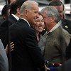 "Joe Biden, Vice President of the United States, visited UQM Technologies, outside Longmont, to talk about how the Recovery Act is transforming the American economy through investments in innovation and technology. He stops to pose for a photo with a fan.<br /> For more photos  and a video of the visit, go to  <a href=""http://www.dailycamera.com"">http://www.dailycamera.com</a><br /> Cliff Grassmick / April 30, 2010"