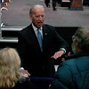 "Joe Biden, Vice President of the United States, visited UQM Technologies, outside Longmont, to talk about how the Recovery Act is transforming the American economy through investments in innovation and technology.  Biden greets the crowd after his speech.<br /> For more photos  and a video of the visit, go to  <a href=""http://www.dailycamera.com"">http://www.dailycamera.com</a><br /> Cliff Grassmick / April 30, 2010"