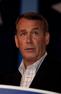 Majority Leader Rep. John Boehner