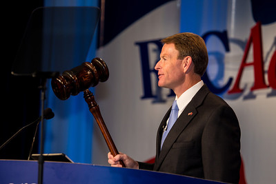 Tony Perkins, President, FRC Action and Family Research Council (FRC) welcomes delegates to the Values Voter Summit on Friday, Sept 14, 2012 in Washington DC. The annual gathering of Christian conservatives and elected officials is a joint production of the Family Research Council and other social conservative groups. Gay marriage, abortion, religion and the upcoming presidential election dominated the discussion. (Photo by Jeff Malet)