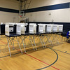 There was not a lot of voters going to the polls in Westminster on Tuesday.   SENTINEL& ENTERPRISE/JOHN LOVE