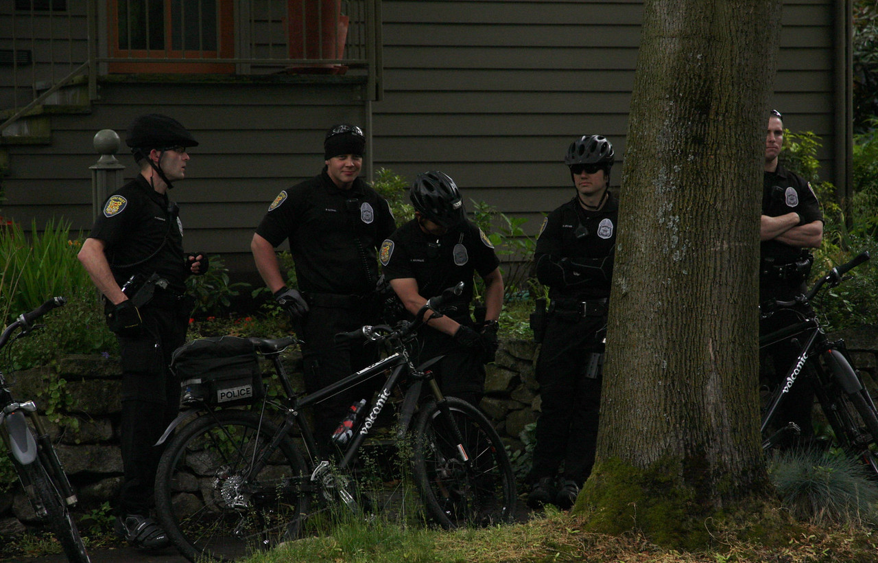 Seattle PD prepped for the excitement.