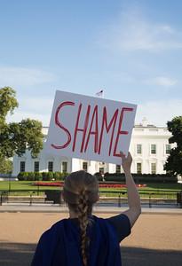 Donald Trump, protest, Paris Climate Accord