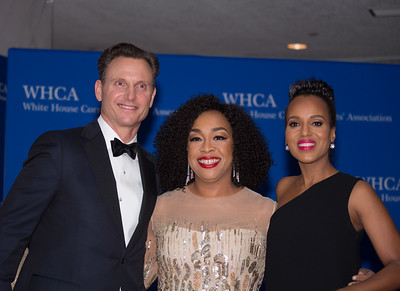 Tony Goldwyn, Shonda Rhimes, White House Correspondents Dinner