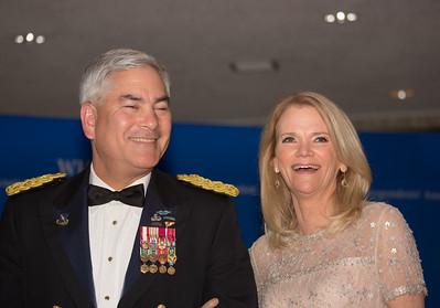 General John F. Campbell, Martha Raddatz, White House Correspondents' Dinner