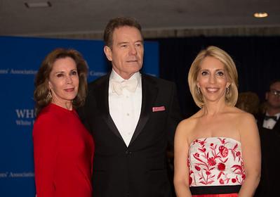Dana Bash, Bryan Cranston, White House Correspondents' Dinner