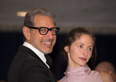 Jeff Goldblum, Emilie Livingston, White House Correspondents Dinner