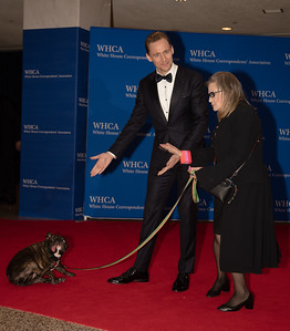 Carrie Fisher, Tom Hiddleston, White House Correspondents' Dinner