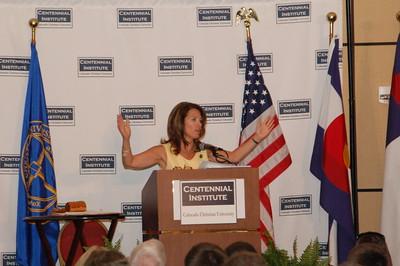 DSC_6816 Michele Bachman addresses Western Conservative Summit, 2010