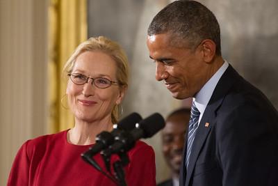Meryl Streep, Barack Obama