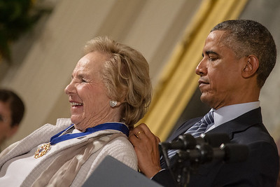 Barack Obama, Ethel Kennedy