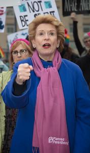 Women's March on Washington, Donald TrumpDebbie Stabenow