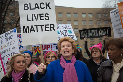 Women's March on Washington, Donald Trump, Debbie Stabenow