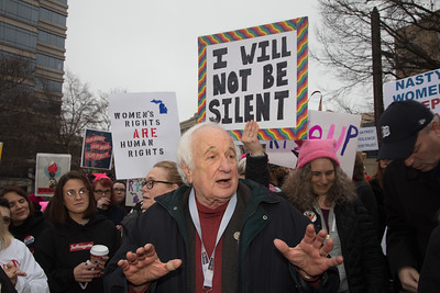 Women's March on Washington, Donald Trump, Sander Levin