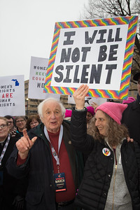 Women's March on Washington, Donald Trump, Sander Levin