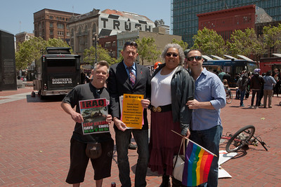 San Francisco Rally for International Day Against homophobia, transphobia and biphobia
