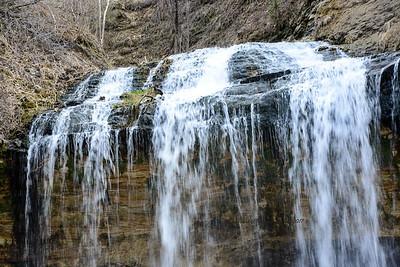 Ribbons at Osceola Falls