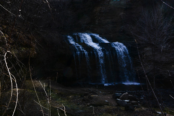 Osceola Falls Moonlight