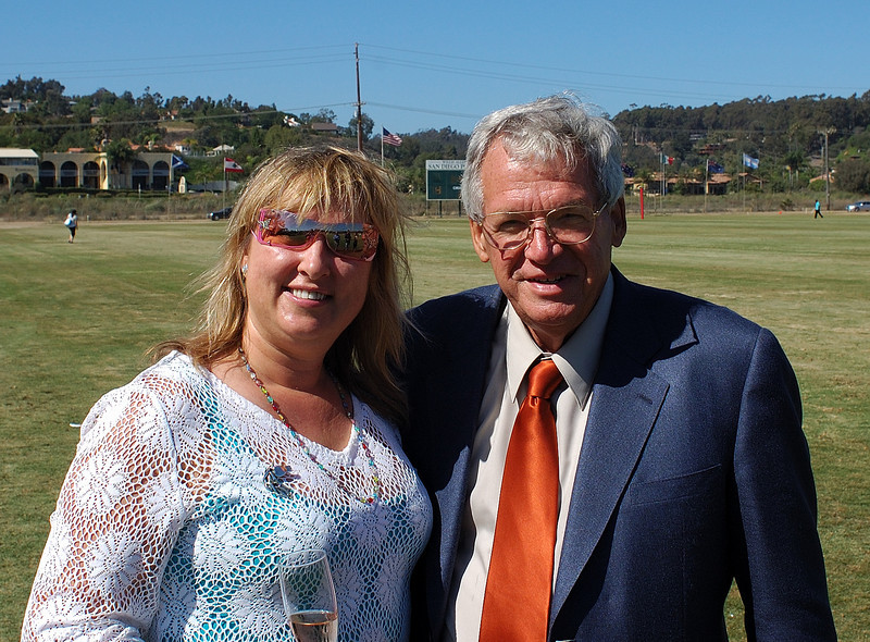 Congressman Dennis Hastert and Juliana Scoggins