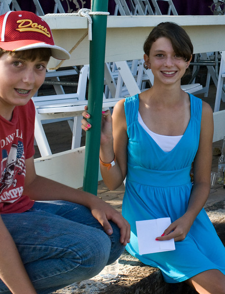 Patrick Collins and Kelsey Maloney