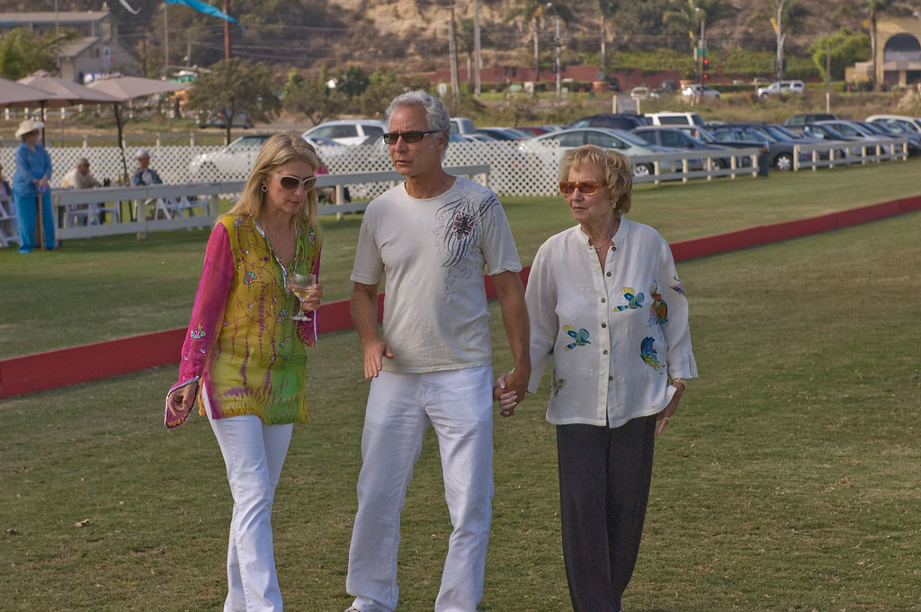 Angie and Ross Neglia with Ross' Mother.