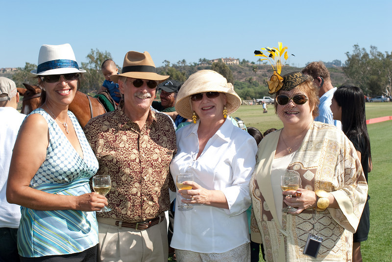 2009, Polo, Hat Day, Rossmore Cup-172